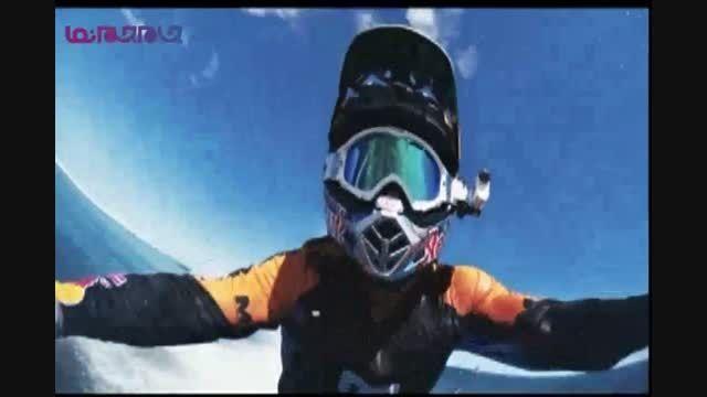 گلچین صفاسا: موج سواری موتور سیکلت+فیلم کلیپ دیدنی جالب
