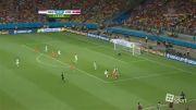 هلند 0 - 0 کاستاریکا (پنالتی 4 -3 به سود هلند) خلاصه