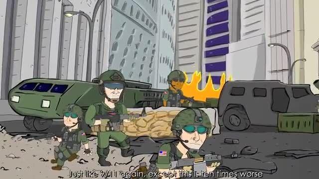 انیمیشن و آهنگ بازی  call of duty MW3