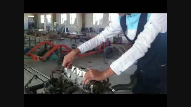 پروژه ساخت ماکت آموزشی برای درس موتورهای احتراقی...