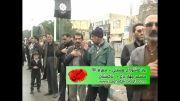 دسته عزاداری مسجد چهار باغ تاکستان - عاشورای 92