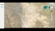 موقعیت جغرافیایی روستای درویشعلی برروی کره زمین