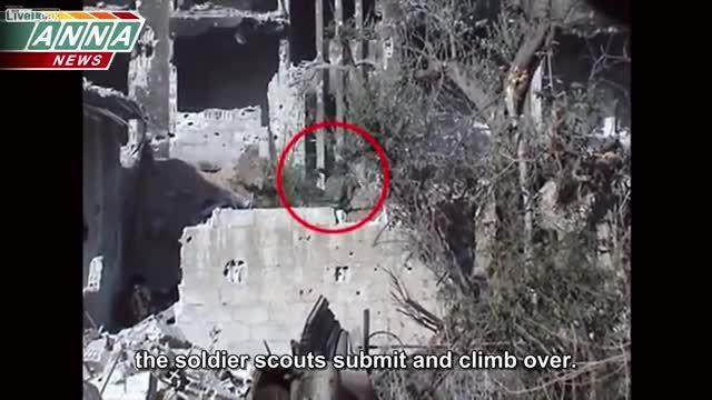 شکار تروریست های سوری توسط ارتش در درگیری رودر رو
