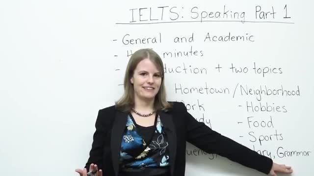 آموزش آیلتس اسپیکینگ - تسک 1 - How to get a high score