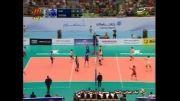 خلاصه ست اول والیبال ایران و صربستان (بازی رفت - لیگ جهانی)