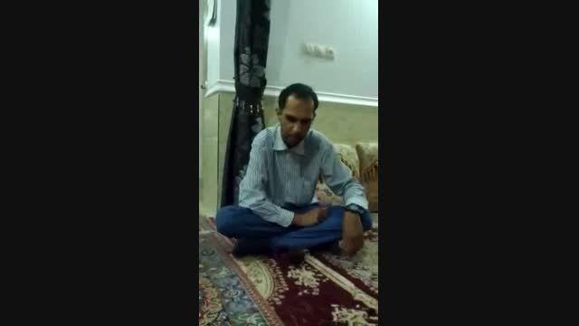 اذان گوی مسجد امام سجادگناوه برادر حیدر غلامی گناوه