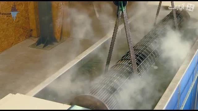 شستشوی قطعات صنایع نفت و گاز در حمام التراسونیک