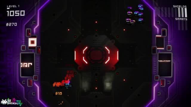 گیم پلی بازی آرکید Ultratron از سایت آل گیم