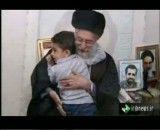 دیدار مقام معظم رهبری امام خامنه ای ( مدظله العالی ) با خانواده شهیدان رضایی نژادواحمدی روشن