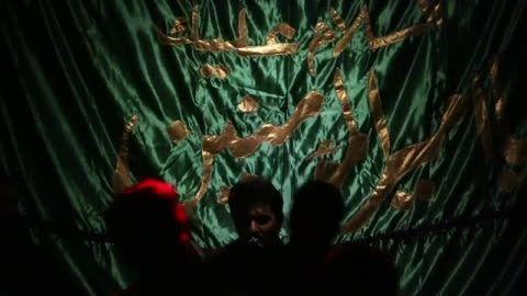 *سینه زنی ترکی آقای رحمان شاه محمدی- شب چـــــــهــارم*