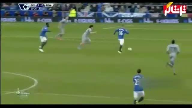 خلاصه بازی : اورتون 3 - 0 نیوکاسل ( ویدیو )