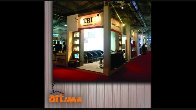 طراحی غرفه شرکت ایمپلنت TRI