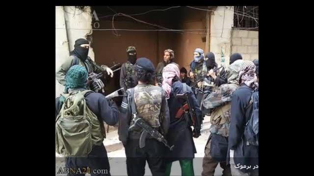 تصاویر جدید داعش در یرموک - سوریه