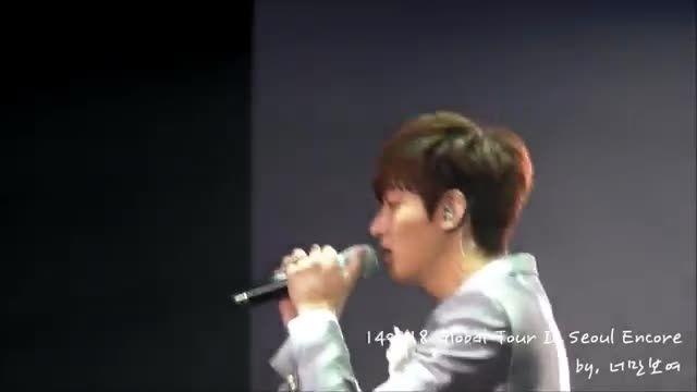 کنسرت Pieces of Love لی مین هو (2)