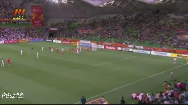 گل های بازی ایران 2-0 بحرین
