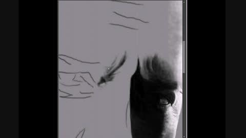 نمایش سریع نقاشی - بروس ویلیس