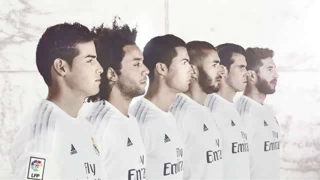 رونمایی از پیراهن جدید رئال مادرید در فصل 16-2015