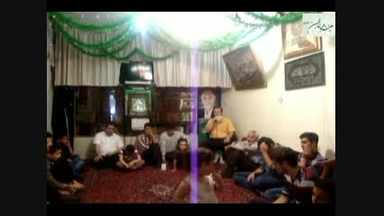 شعر خوانی کربلایی جواد مظهری در روز عید مبعث