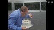 دوربین مخفی دیدنی کیک تولد