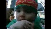 مراسم حضرت علی اصغر