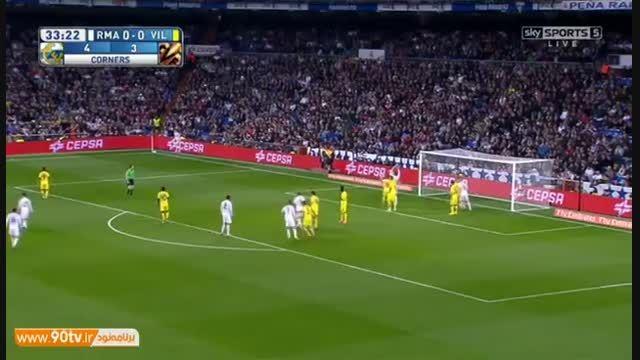 خلاصه بازی: رئال مادرید ۱-۱ ویارئال