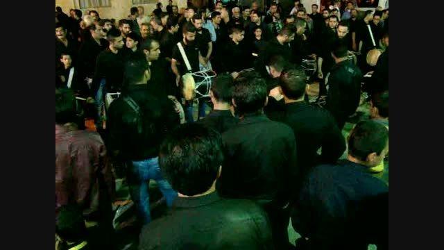 دمام زنی بوشهری کوی چهابی در حسینیه کوی فخاران کازرون
