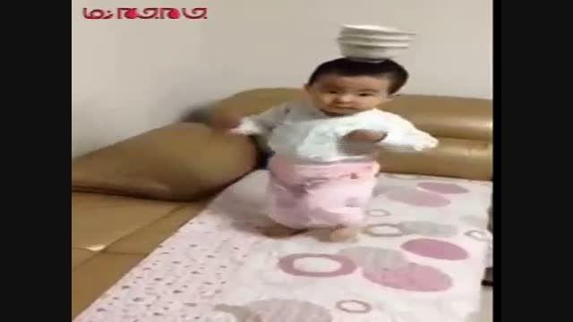 شیرین کاری و تعادل کودک چینی فیلم گلچین صفاسا