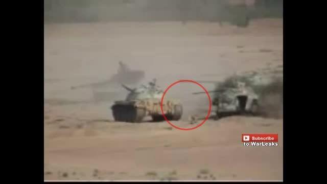 سرباز پیاده شجاع یمنی و انهدام تانک ال مزدور