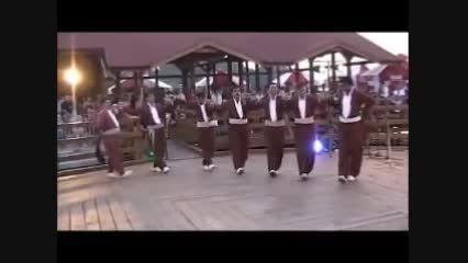 گروه رقص آبیدر - انواع رقص کوردی - لهستان 2011
