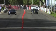 درگ Porsche 911 GT2 9ff vs Nissan GT-R AMS Alpha12