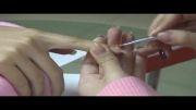 Gel Nail process - آموزش کاشت ناخن ژل به همراه طراحی با دستگاه نایس نیل
