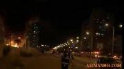 فرود موشکهای فلسطینی در قلب شهر اسدود اسرائیل اشغالگر