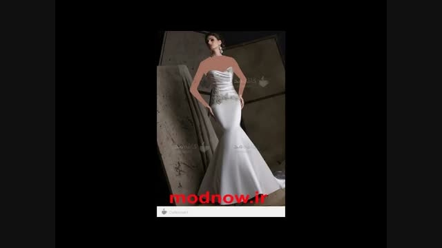 مدل لباس عروس جدید 2015 اروپایی