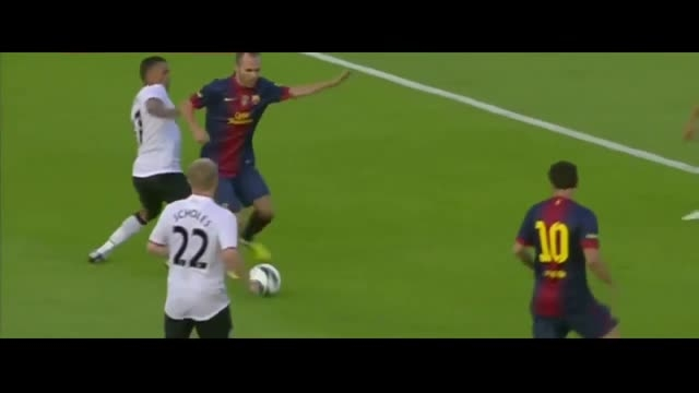 هایلایت کامل بازی لیونل مسی مقابل منچستریونایتد (2012)