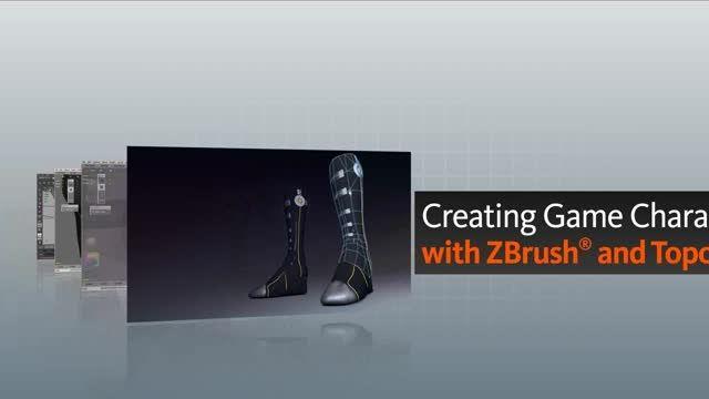 Digital Tutors - Creating Game Characters with ZBrush and TopoGun