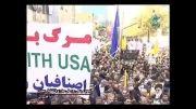مصاحبه در راهپیمایی روز ملی مبارزه با استکبار جهانی