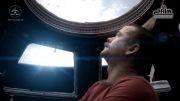 موزیک ویدیویی که تماما در فضا فیلمبرداری شده