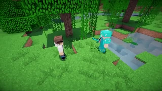 اگه جای نوب ها و پرو ها عوض شه !! | Minecraft