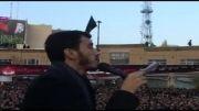 نوحه حاج مهدی رسولی به سه زبان در دسته حسینیه اعظم زنجان 92