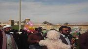 راهپیمایی مردم انقلابی شهیدستان چاهملک در روز 22 بهمن 92