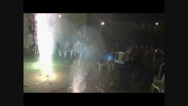 میلاد امام حسن (ع) مراسم آتش بازی 94