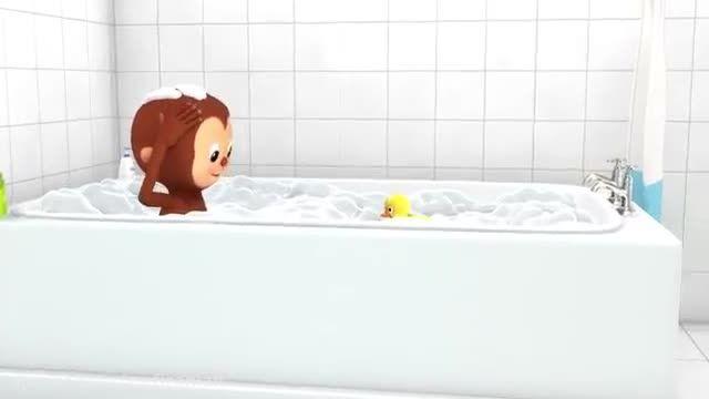 شعر و ترانه کودکانه انگلیسی حمام خیلی خوبه