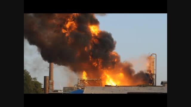 انیمیشن آموزشی حادثه انفجار و آتش سوزی (شماره 3 )