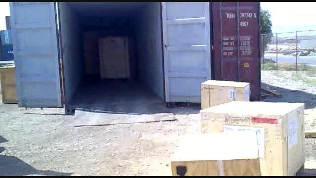 تجهیزات وارداتی آزکالا به گمرک و ارسال به مشتریان
