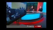 توهین مجری بی بی سی به ایران و حمایت مدیر بی بی سی از وی