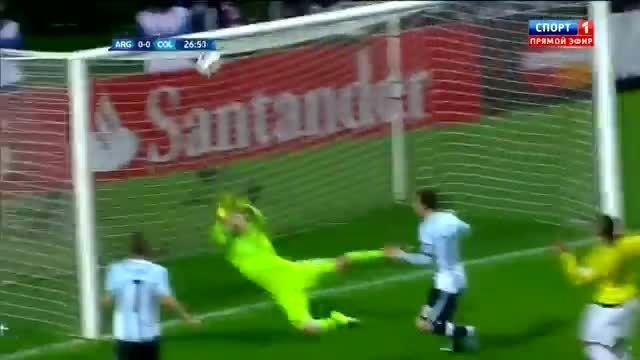 هایلایت کامل دیوید اوسپینا مقابل آرژانتین (کوپا آمریکا)