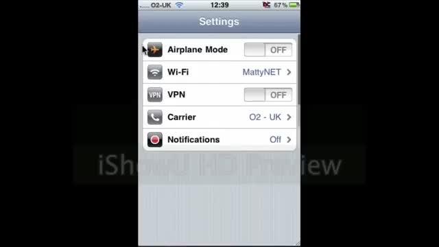 how to change ip in ipad