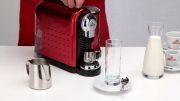 دستگاه Carina - طرز تهیه کافه لاته