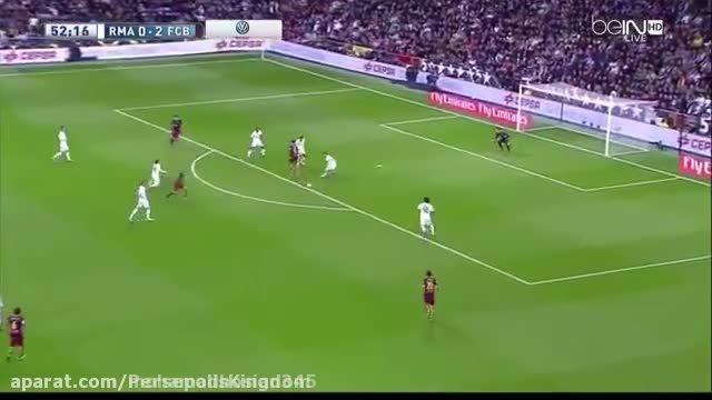 خلاصه ی بازی بارسلونا- رئال مادرید 4 - 0