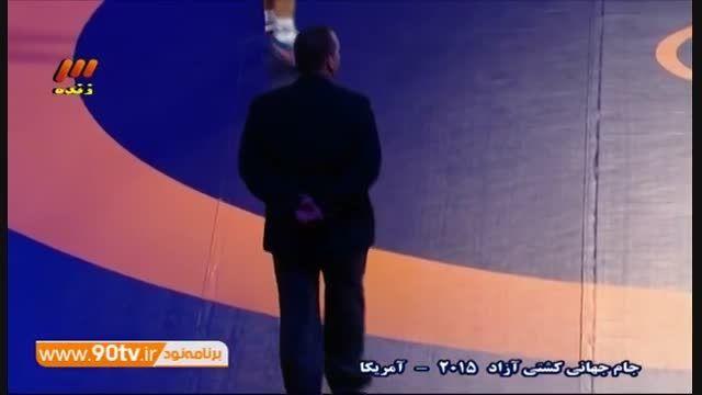 جام جهانی کشتی آزاد - پیروزی کریمی مقابل بلاروس/۸۶ کیلو